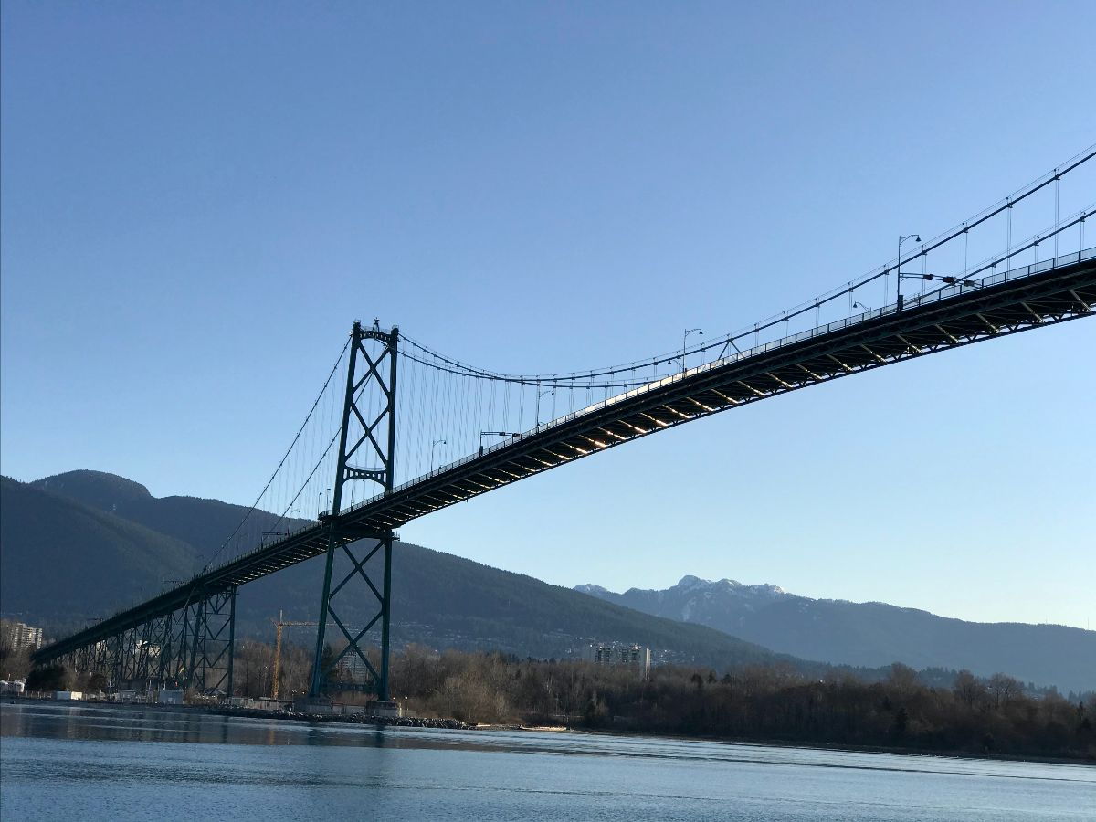 lions gate bridge wow