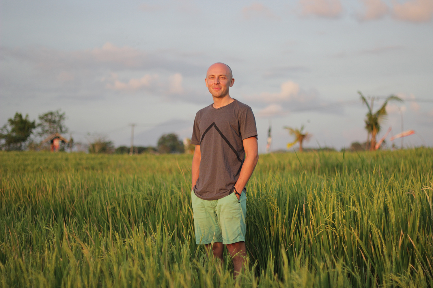 kenny grant bali grass paddy fields